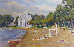 Lake Harriet Bandshell painting
